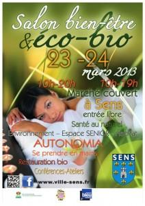Salon bien-être et éco-bio de Sens 2013