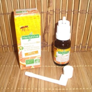 Spray buccal BIO Propolis et Extrait de pépins de pamplemousse