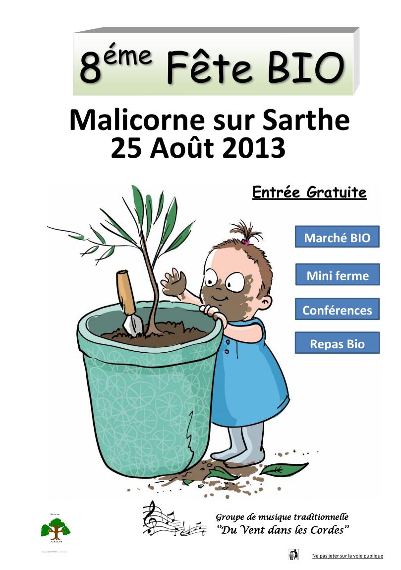 Fête bio de malicorne 2013
